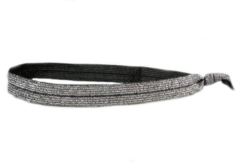 Sparkle Black Elastic Headband (SKU 6014 HB)
