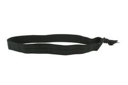 Solid Black Elastic Headband (SKU 6038 HB)