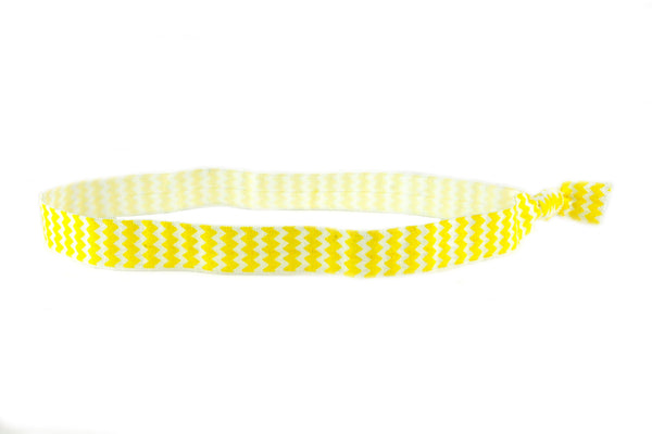 Chevron Yellow Headband