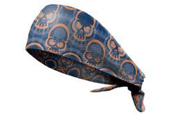 Tie Back Bonehead Navy Orange (SKU 7519)
