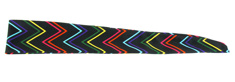 Tie Back Chevron Skinny Neon Multi (SKU 7533)