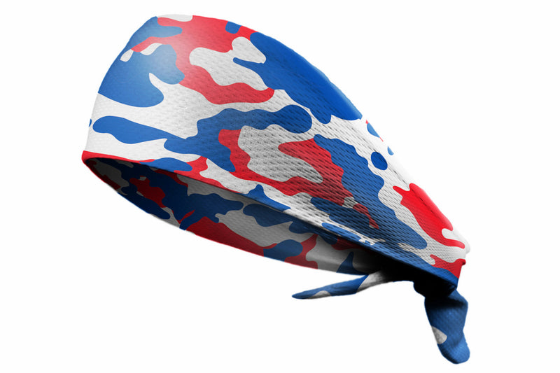 Tie Back Camo Royal Red (SKU 7542)
