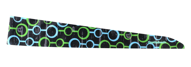 Tie Back Circle Chain Green Blue (SKU 7574)