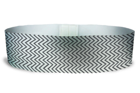 Loopty Loop Chevron Mini Charcoal Grey