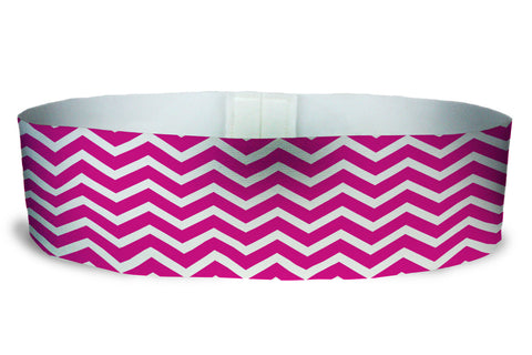 Loopty Loop Chevron Hot Pink