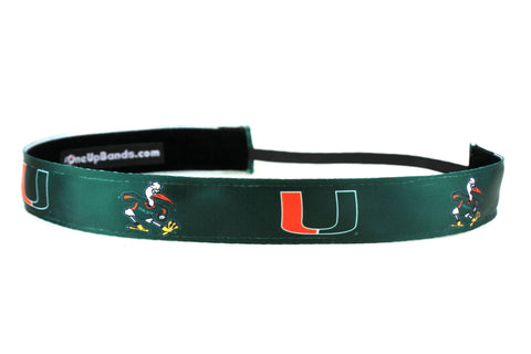 NCAA University of Miami Team Color (SKU 1468)
