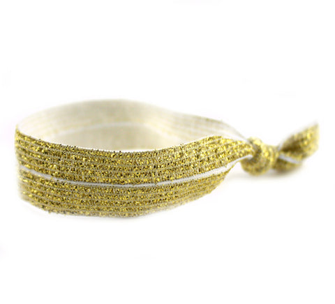 Shimmer Gold Hair Tie (SKU 6013)