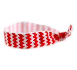 Chevron Red Hair Tie (SKU 6026)
