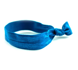 Solid Teal Hair Tie (SKU 6043)