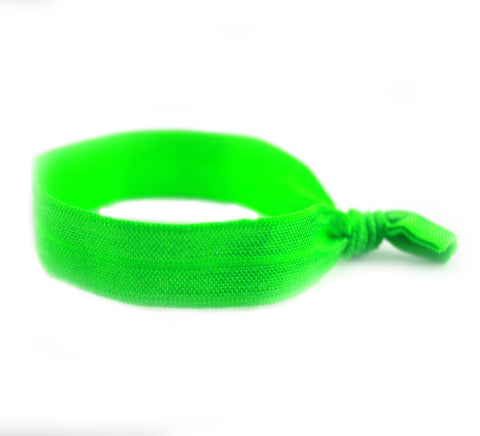 Solid Grass Green Hair Tie (SKU 6054)