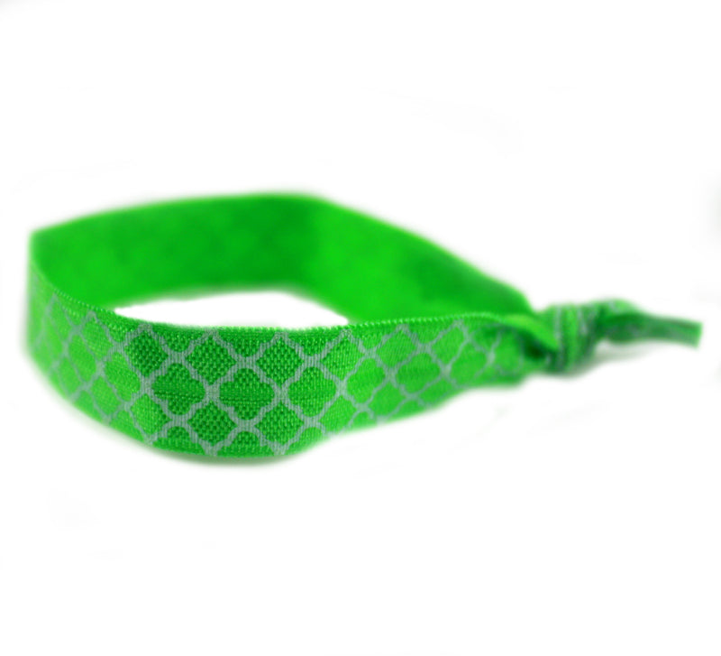 Lace Green Hair Tie (SKU 6070)