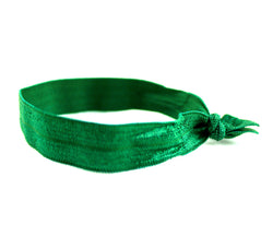 Solid Green Hair Tie (SKU 6090)