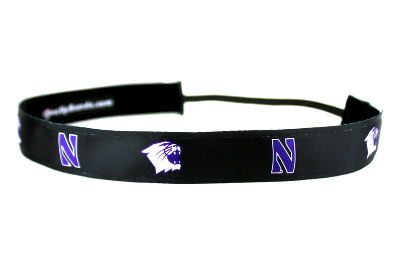 NCAA Northwestern University Team Colors Black (SKU 1921)
