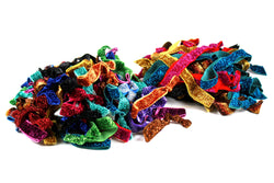 Hair Tie Refill 180 Piece Glitter Assorted (SKU 7005)