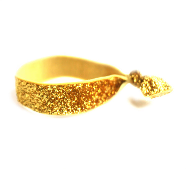 Glitter Gold Hair Tie (SKU 5044)