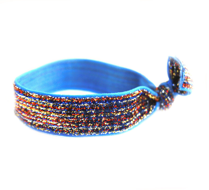 Glitter Patriotic Hair Tie (SKU 5045)