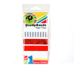 Reds 3 Pack Hair Ties (SKU 7022)