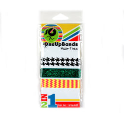 Pattern Multi 3 Pack Hair Ties (SKU 7021)