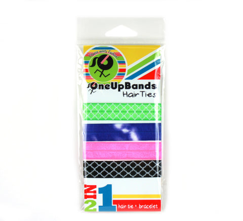 Diamonds 4 Pack Hair Ties (SKU 7061)