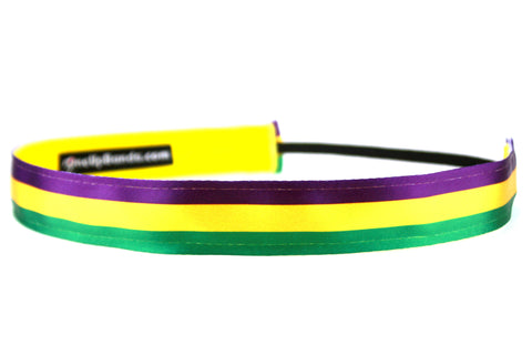Mardi Gras Horizontal Stripes (SKU 1985)