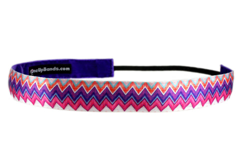 Chevron Purple Pink Plaid (SKU 1931)