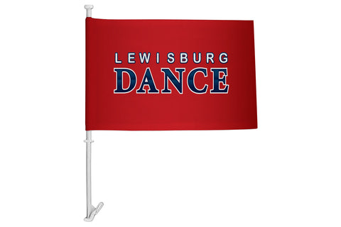 Lewisburg Dance Car Flag