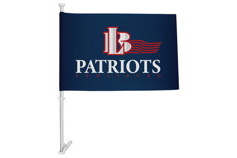 Lewisburg Patriots Car Flag