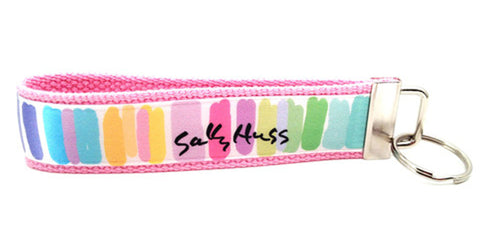 Sally Huss Happy Colors Keychain (SKU 1370 KC)