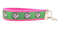 Spike It Pink Green Keychain (SKU 1227a KC)