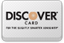 We accept Discover.