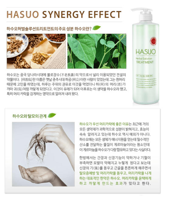 HASUO Herbal Solution Treatment