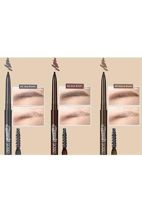 PERIPERA Speedy Skinny Brow 3Color