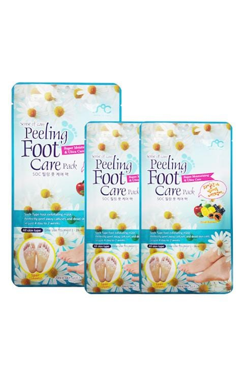 SENSE OF CARE PEELING FOOT CARE PACK 2X 0.68FL.OZ/20ML