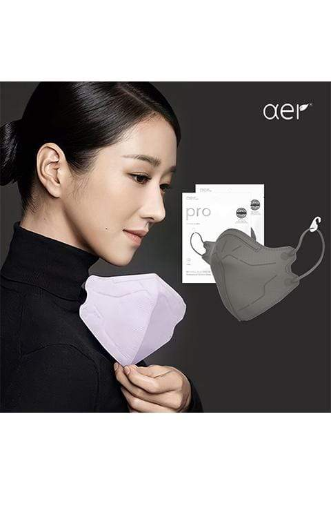 Aer KF94 Pro Fit Face Mask M Size Navy, Lilac Purple, Candy Pink, Ice Blue Color
