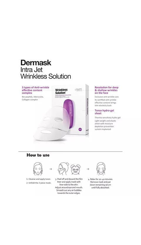 Dr. Jart+ Dermask Intra Jet Wrinkless Solution Sheet Mask