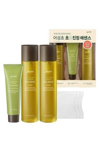 Goodal Houttuynia Cordata Calming Essence Double Edition Special Set