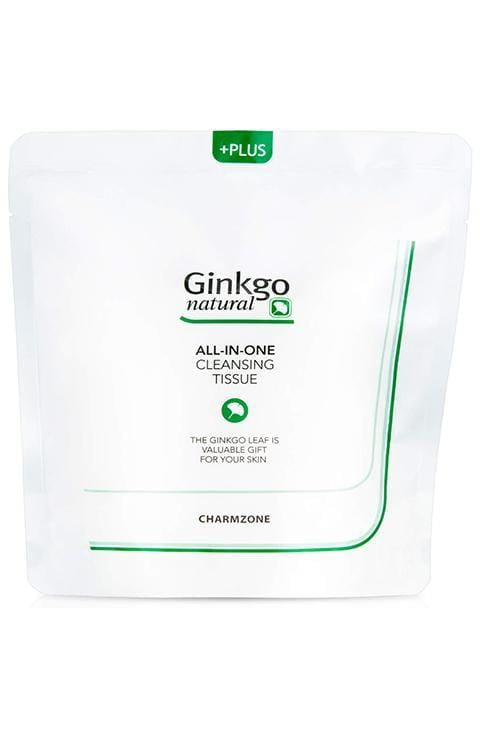 Charmzone Ginkgo Natural All in One Cleansing Tissue