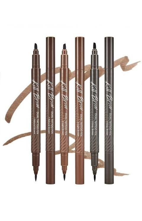 CLIO KILL BROW DUAL TATTOO PEN SET 3 Color