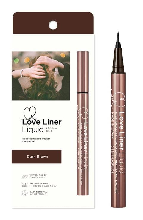 MSH Love Liner Liquid Eyeliner Pen Waterproof from Japan Dark Brown