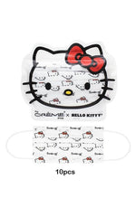 3-Ply Protective Face Mask - Hello Kitty (Disposable) 3Pcs, 7Pcs,10Pcs