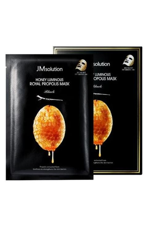JMsolution Honey Luminous Royal Propolis Mask 10pcs