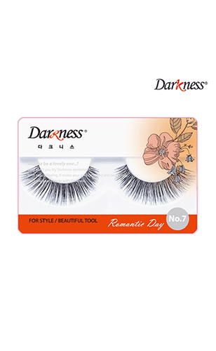 Darkness Eyelashes Romantic Day