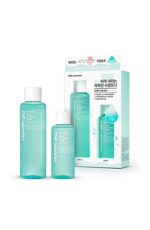 [CNP LABORATORY] AQUA SOOTHING TONER SPECIAL EDITION - 1PACK (200ML+100ML)