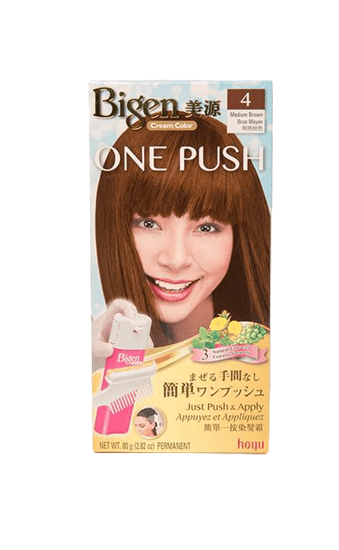 Bigen Cream Color One Push - Palace Beauty Galleria