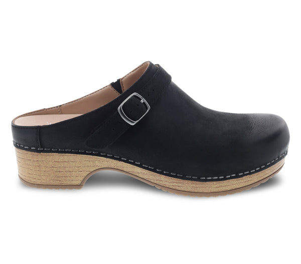 Dansko Berry Black Slide