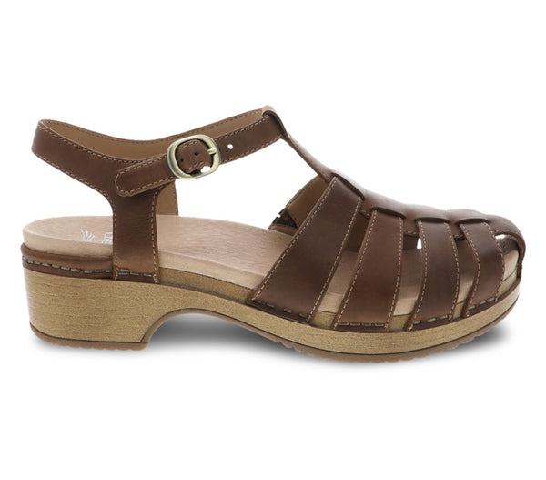 Dansko Brie Brown Sandal