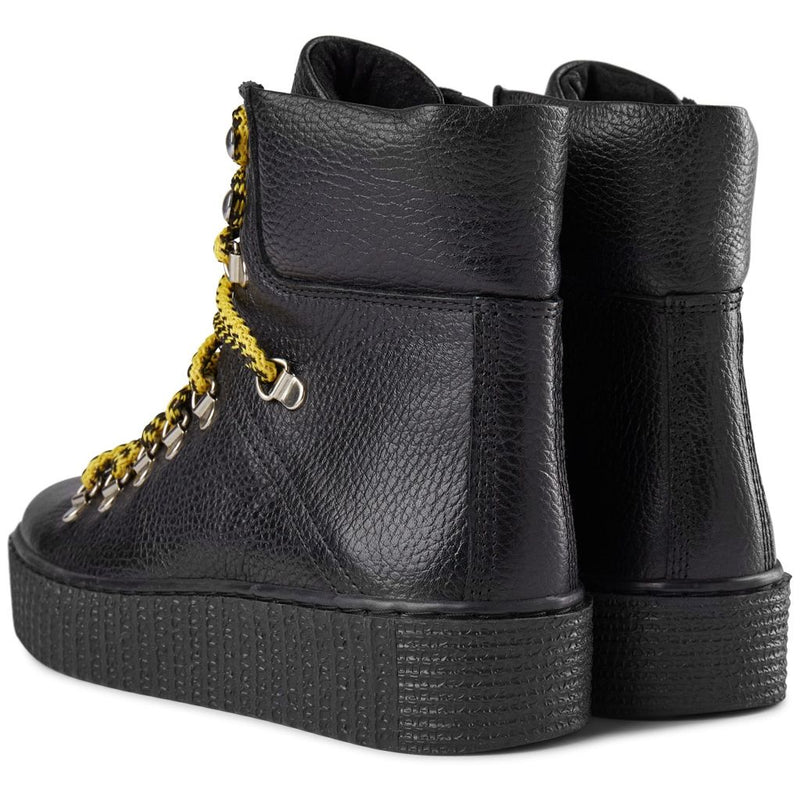 Shoe The Bear Agda Black Lace Up Boot