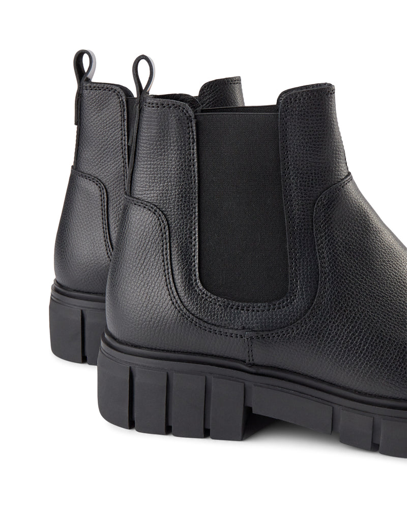 Shoe the Bear Rebel Chelsea Black Ankle Boot