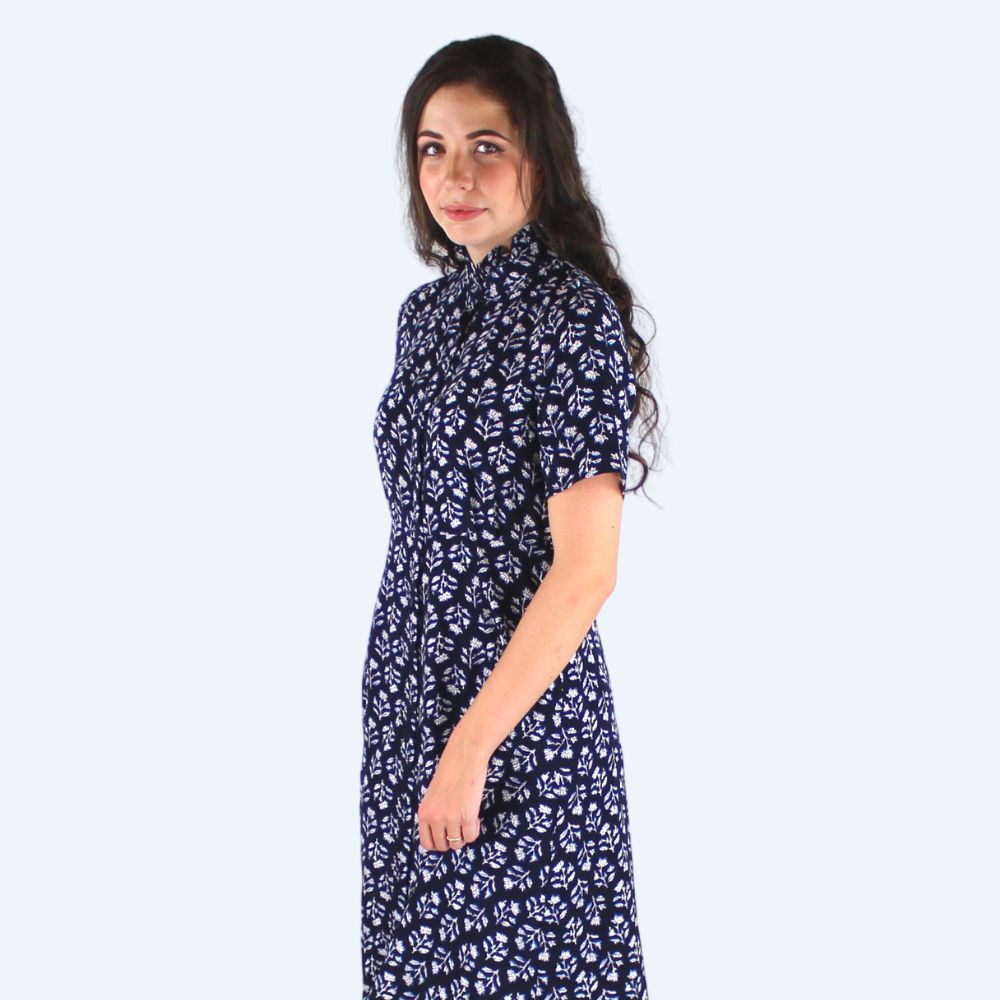 Allison Navy Dress