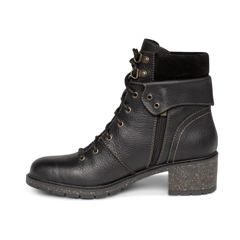 Aubry Black Ankle Boot